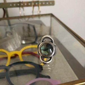 Pamela Love Lunar Ring -Labradorite size 6 1/2